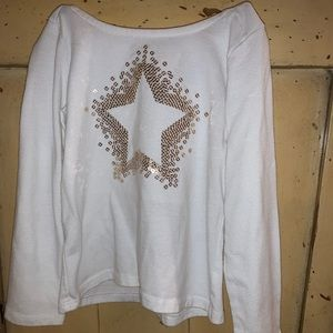 A shirt with a star